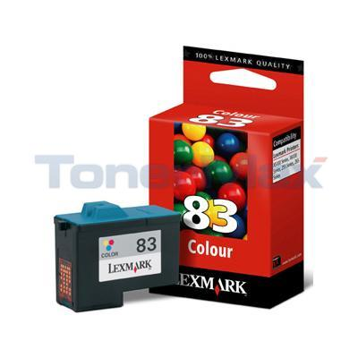 LEXMARK X5150 NO. 83 PRINT CART COLOR